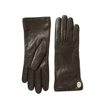 COACH 蔻驰 Iconic Leather Gloves 女士皮手套