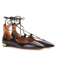 AQUAZZURA Christy Flat 女士平底鞋