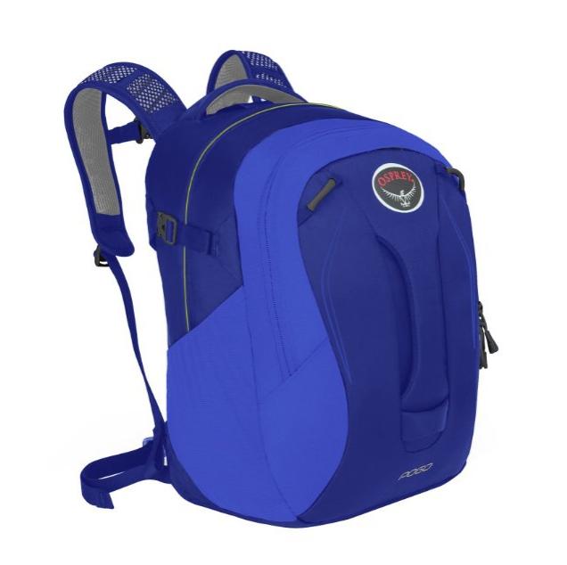 OSPREY F16 弹簧 Pogo 儿童双肩背包  紫蓝色 24L