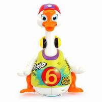 PLUS会员:Huile TOY'S 汇乐玩具 儿童音乐电动玩具鹅