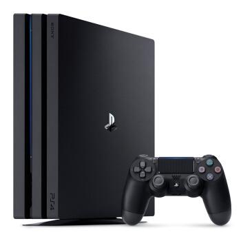 SONY 索尼 PlayStation 4 Pro 游戏主机 1TB(黑色)