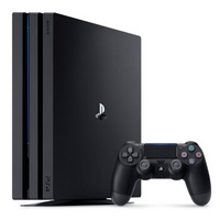 SONY 索尼 PlayStation4 Pro(PS4 Pro)游戏主机 1TB 双手柄 + 《地平线:零之曙光》