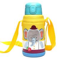 京东PLUS会员 : 乐扣乐扣儿童便携保温杯水杯杯子学生保温杯带吸管550ml大象图案LHC1435EPT *2件