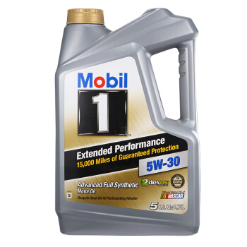 Mobil 美孚 1号 长效 EP  5W-30 SN 全合成机油 5Qt