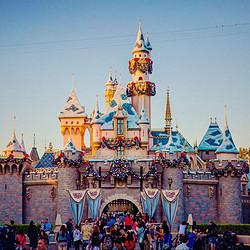 美国洛杉矶 迪士尼乐园 成人门票