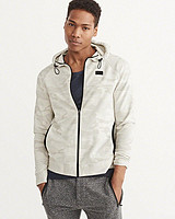 Abercrombie & Fitch Sport Full-Zip 男士连帽卫衣