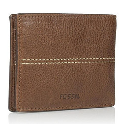 FOSSIL RFID Blocking Turk Pass Case 男士钱包