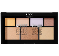 NYX Professional Makeup 天才7色高光修容盘 20g
