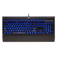 USCORSAIR 美商海盗船 K68 有线机械键盘 104键 黑色 Cherry青轴 蓝光