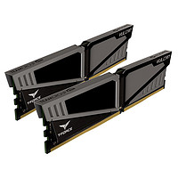 Team 十铨 T-Force Vulcan DDR4 2400MHz 16GB台式机内存套装(2 x 8GB)