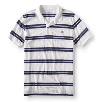 凑单品 : AÉROPOSTALE A87 striped 男款POLO衫
