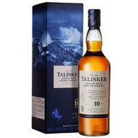 20日0点:TALISKER 泰斯卡 10年单一麦芽威士忌酒 700ml *4件
