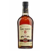 百加得(Bacardi)洋酒 朗姆酒 八年朗姆酒 1L