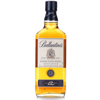 Ballantine's 百龄坛 金玺12年苏格兰威士忌 700ml