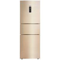Midea 美的 BCD-258WTPZM(E) 风冷三门冰箱 258L 金色