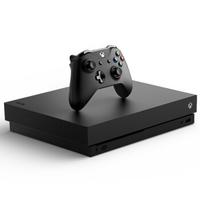 Microsoft 微软 Xbox One X 游戏主机 1TB 黑色 天蝎座