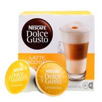 Nestlé 雀巢 Dolce Gusto 多趣酷思 中度烘焙 拿铁玛奇朵 胶囊咖啡 16颗 183.2g