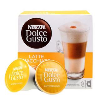 Nestlé 雀巢 Dolce Gusto 多趣酷思 拿铁玛奇朵胶囊咖啡 16颗