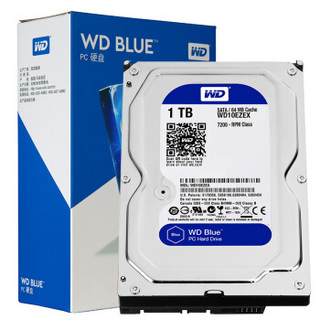 WD 西部数据 台式机硬盘 蓝盘