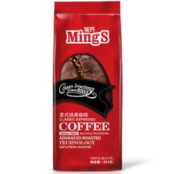 MingS 铭氏  精品系列 意式经典特浓咖啡豆 454g