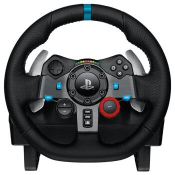 Logitech 罗技 G29 游戏赛车方向盘 黑色