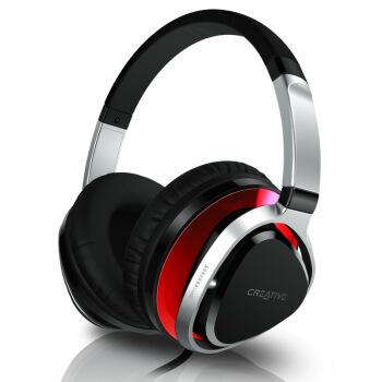 CREATIVE 创新 Aurvana Live2 耳罩式头戴式有线耳机