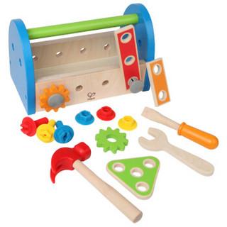 Hape E3001 儿童木制拼拆装工具盒