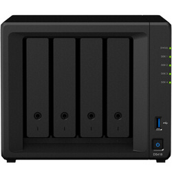 Synology 群晖 DS418 四盘位NAS网络存储服务器 新款