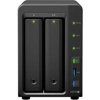 Synology 群晖 DS718+ 2盘位NAS网络存储服务器