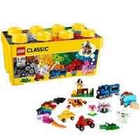 百亿补贴:LEGO 乐高 CLASSIC经典创意系列 10696 中号积木盒