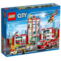 LEGO 乐高 城市系列 60110 消防总局 919粒
