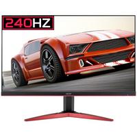 acer 宏碁 暗影骑士KG251Q D 24.5英寸窄边框电竞显示器(240Hz、1ms)