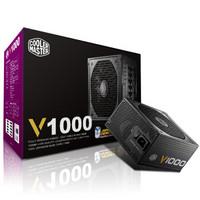 8日0点:COOLERMASTER 酷冷至尊 额定1000W V1000 电脑电源