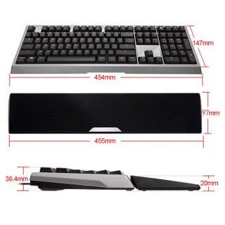 CHERRY 樱桃 MX-BOARD 6.0 G80-3930 红色背光机械键盘
