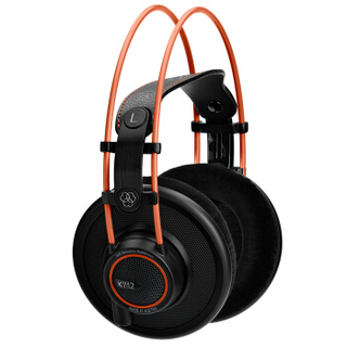 AKG 爱科技 K712 PRO HIFI监听耳机 头戴式 黑色
