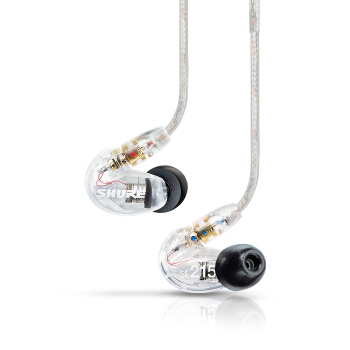 SHURE 舒尔 SE215 有线耳机 入耳式 透明色