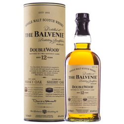 The Balvenie 百富 12年双桶苏格兰达夫镇单一麦芽威士忌 700ml