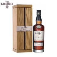 格兰威特 Glenlivet陈酿醇萃单一麦芽苏格兰威士忌原瓶进口洋酒 25年 格兰威特700ML