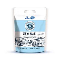 限地区 : 新希望 原态酪乳  原味无添加 100g*10袋 酸奶酸牛奶 *6件