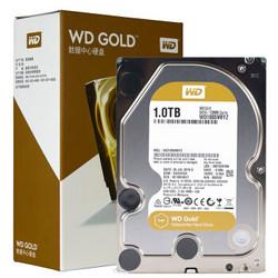 西部数据(WD)金盘 1TB SATA6Gb/s 7200转128M 企业硬盘(WD1005VBYZ)