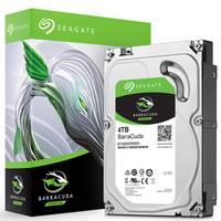 SEAGATE 希捷 酷鱼BarraCuda系列 3.5英寸台式机硬盘 4TB 256MB(5400rpm、SMR)ST4000DM004