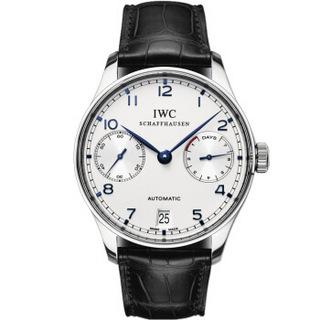 IWC 万国 Portuguese 葡萄牙七日链 IW500705 男士机械腕表