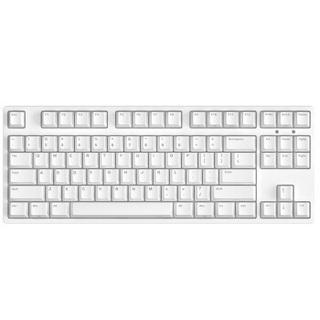 ikbc C87 机械键盘87键 原厂cherry轴 樱桃轴 吃鸡神器 笔记本键盘 白色 红轴