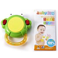 澳贝(AUBY)儿童婴儿玩具男孩女孩青蛙小鼓手拍鼓音乐鼓声光音乐生日礼物(新旧配色随机发货)461201 *2件
