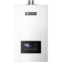 能率(NORITZ)燃气热水器16升 智能精控恒温 水量伺服器GQ-16E4AFEX(JSQ31-E4)天然气 一键节能 防冻