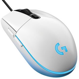 Logitech 罗技 G102 有线游戏鼠标 8000DPI 白色 一代