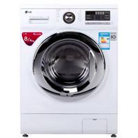 LG 乐金 WD-A12411D 洗烘一体机 8kg洗4kg烘 白色