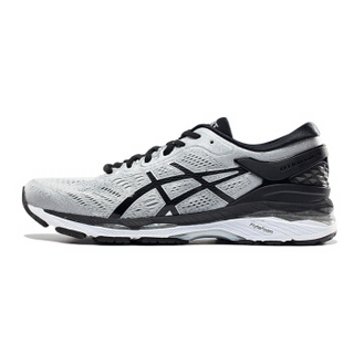 ASICS 亚瑟士 GEL-KAYANO 24 男士跑鞋 银色/黑色/灰色 44 D