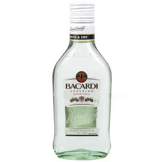 BACARDI 百加得 白朗姆酒 200ml *2件