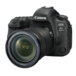 Canon 佳能 EOS 6D Mark II 全画幅单反相机(EF 24-105mm f/3.5-5.6 IS STM )套机